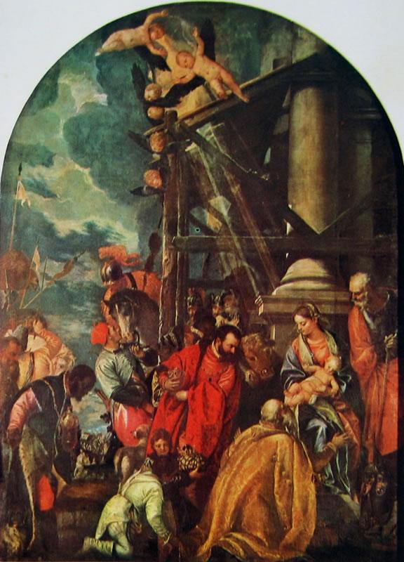 Il Veronese: L'adorazione dei magi
