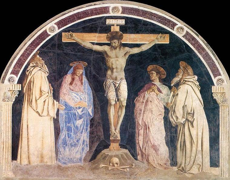 Andrea del Castagno: Crocifissione di Santa Maria degli Angeli