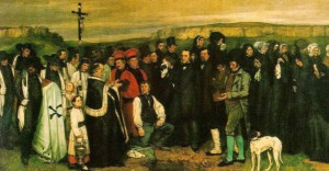 Gustave Courbet: Funerale a Ornans
