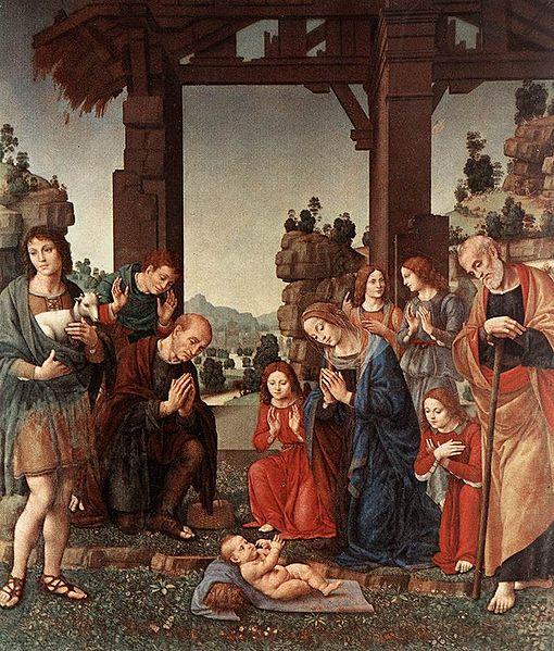 Lorenzo Credi: Adorazione dei pastori