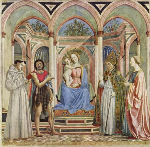 Domenico Veneziano: Pala di Santa Lucia dei Magnoli