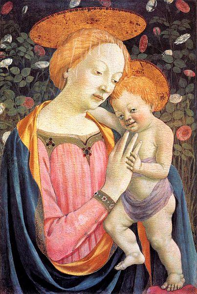 Domenico Veneziano: Madonna col Bambino