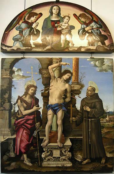 Filippino Lippi: Pala di Francesco Lomellini