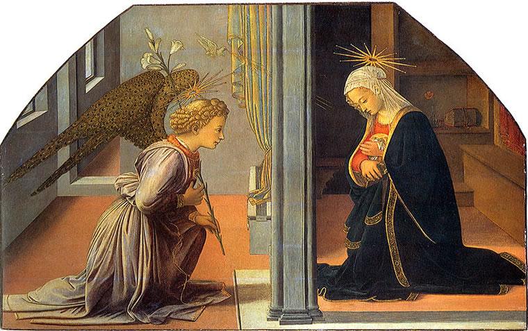 Annunciazione (1435-40) - Filippo Lippi