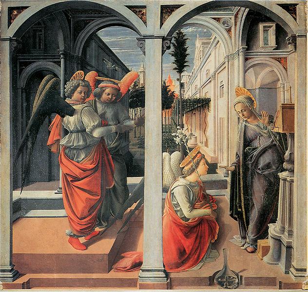 Filippo Lippi: Annunciazione Martelli
