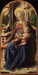 Trittico della Madonna con Gesù Bambino e i quattro Dottori della Chiesa
