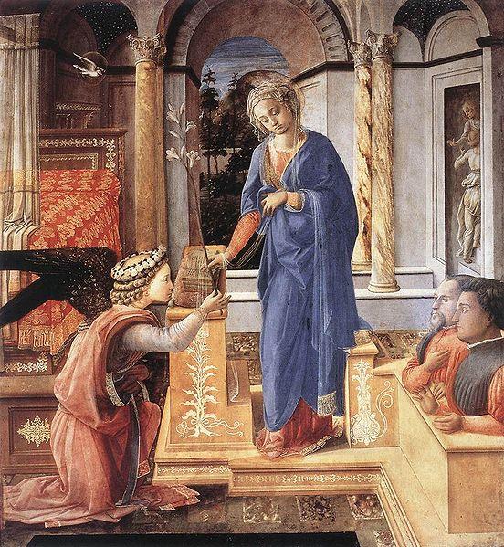 Filippo Lippi: Annunciazione (Palazzo Barberini)