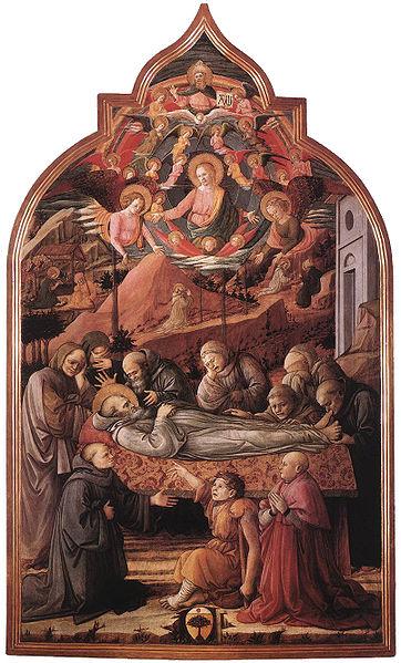 Filippo Lippi: Esequie di san Gerolamo
