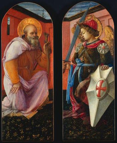 I santi Antonio Abate e Michele Arcangelo