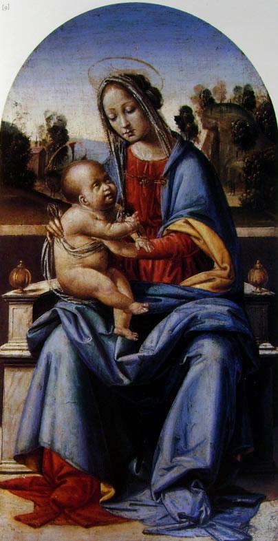 Fra Bartolomeo: Madonna col Bambino in trono