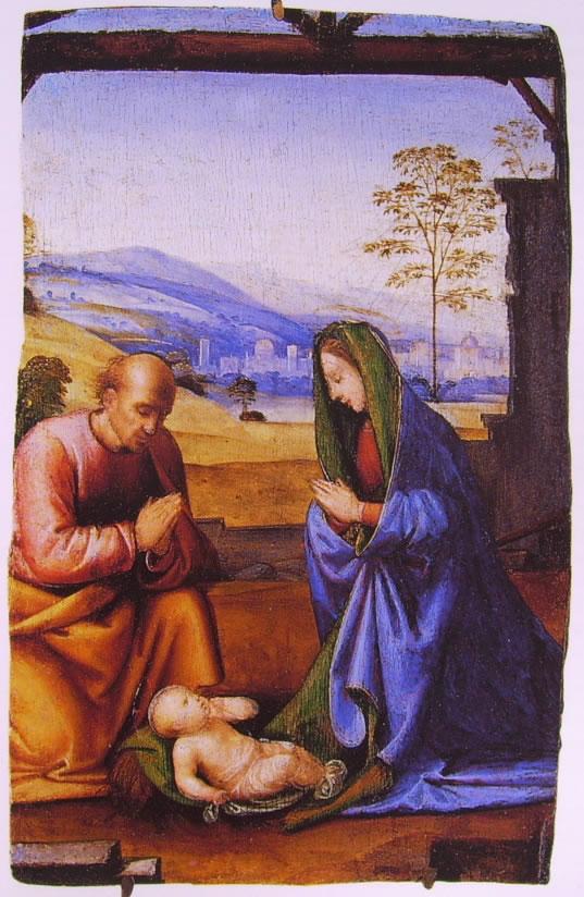 Fra' Bartolomeo: Adorazione del Bambino