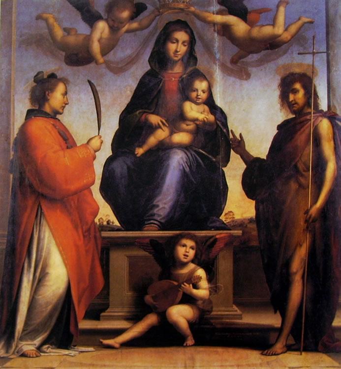 Fra' Bartolomeo: Madonna col Bambino fra i Santi Giovanni Battista e Stefano