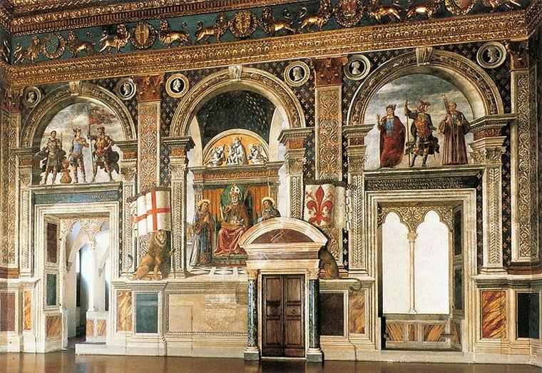 Domenico Ghirlandaio: Apoteosi di san Zanobi e ciclo di uomini illustri