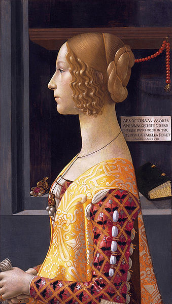Domenico Ghirlandaio: Ritratto di Giovanna Tornabuoni