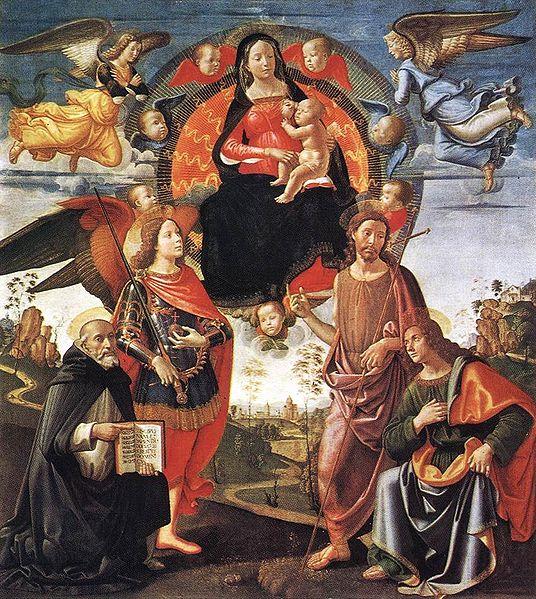 Domenico Ghirlandaio: Pala Tornabuoni