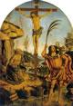 Crocifisso tra i santi Girolamo e Cristoforo