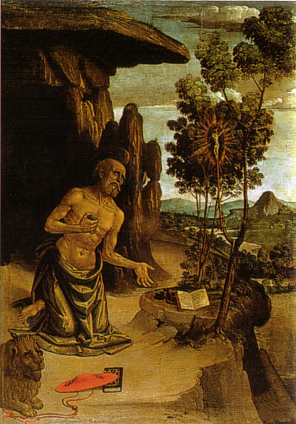 Pinturicchio: San Girolamo nel deserto