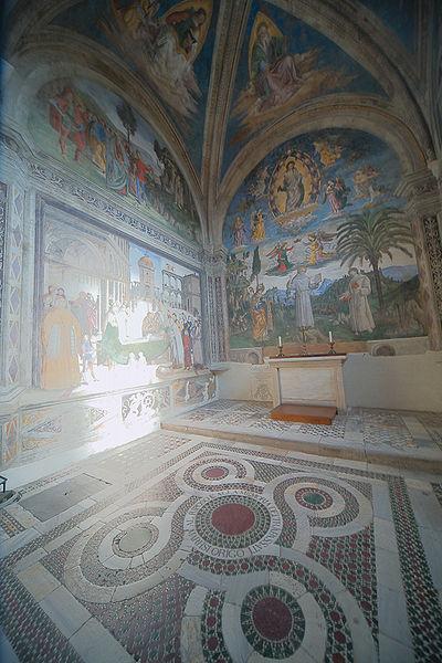 Pinturicchio (Pintoricchio): Cappella Bufalini