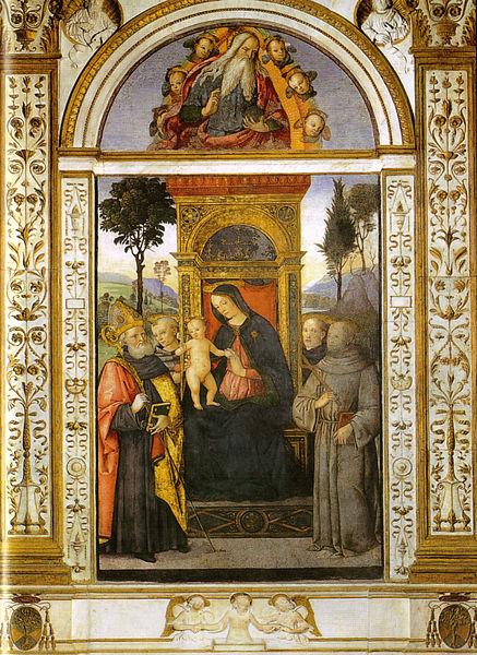 Pinturicchio (Pintoricchio): Cappella Basso della Rovere