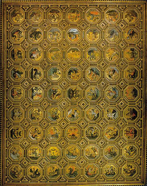 Pinturicchio: Il Soffitto dei Semidei