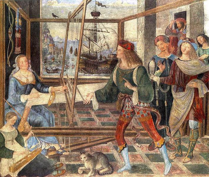 Pinturicchio: Ritorno di Ulisse