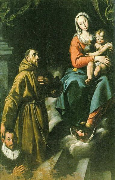 Risultati immagini per Tanzio da varallo Madonna col bambino