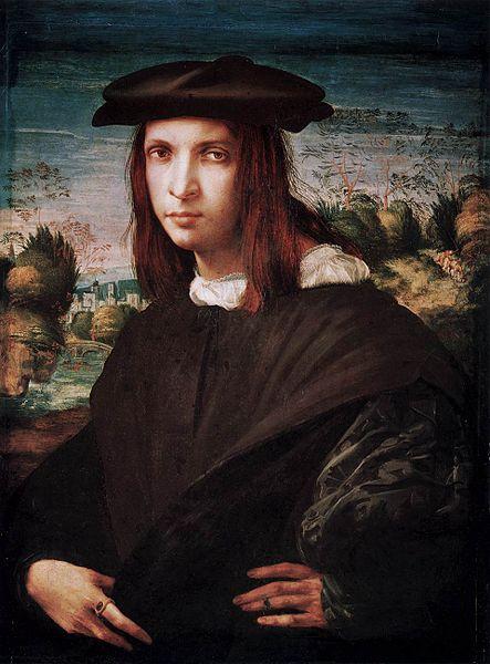 Rosso Fiorentino: Ritratto di giovane uomo