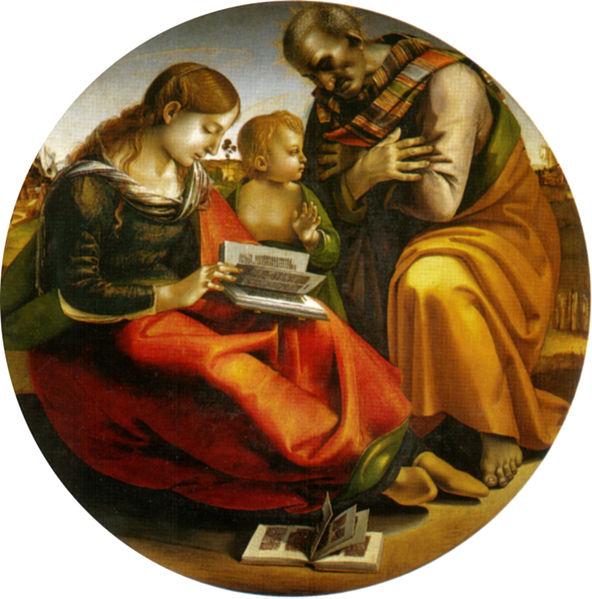 Luca Signorelli: Sacra Famiglia di Parte Guelfa