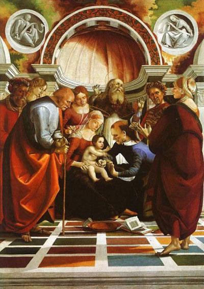 Luca Signorelli: Circoncisione di Cristo