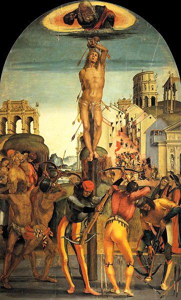 Luca Signorelli: Martirio di san Sebastiano