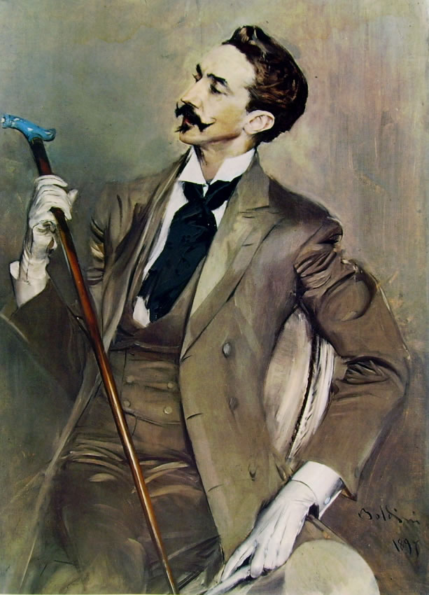 Giovanni Boldini: Ritratto di Robert Montesquiou