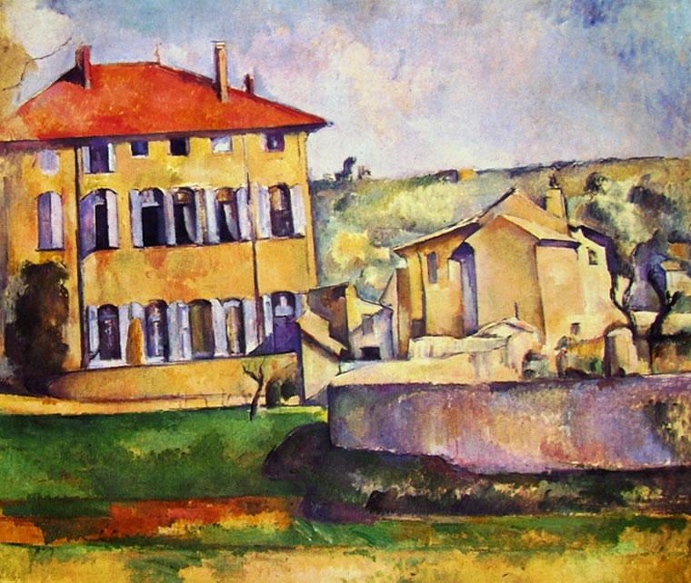 Paul Cezanne: Casa e fattoria del Jas de Bouffan