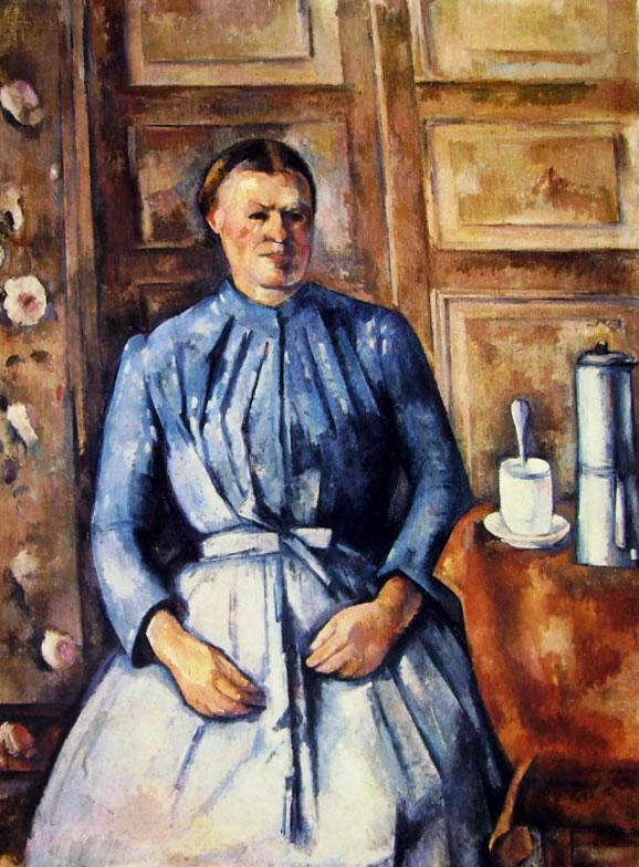 Paul Cezanne: Donna con caffettiera