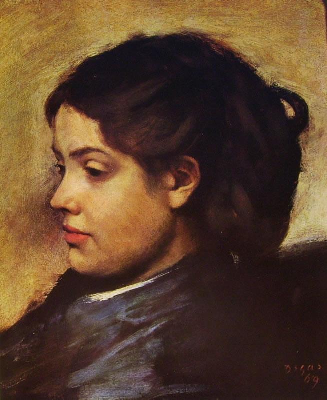 Edgar Degas: M.lle Dobigny