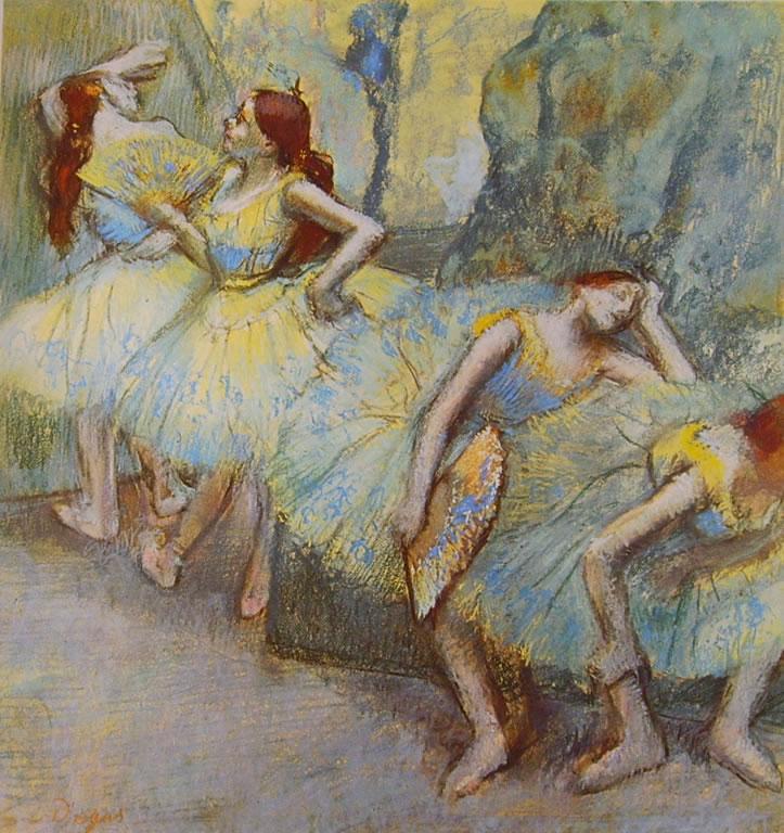 Edgar Degas: Ballerine fra le quinte