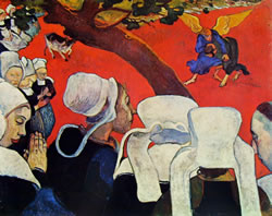 Paul Gauguin - visione dopo il sermone