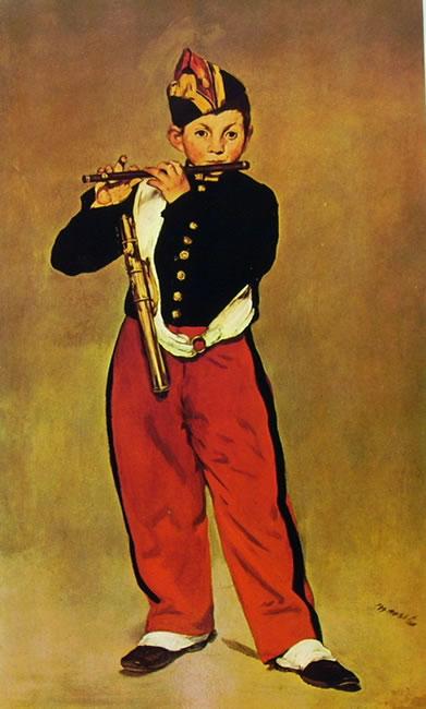 Edouard Manet: Il Piffero
