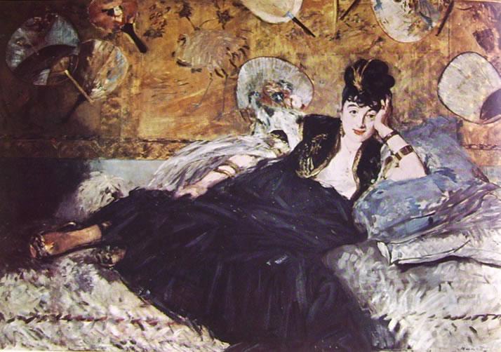 Edouard Manet: Signora con ventagli