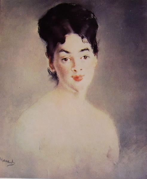 Edouard Manet: Ritratto della signora Jacob