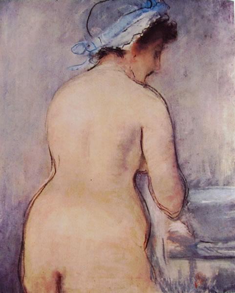 Edouard Manet: Nudo di schiena