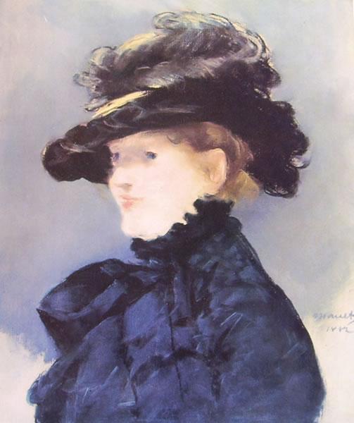 Manet - Ritratto di Mery Laurent