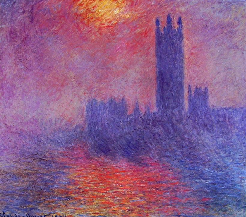 Claude Monet: Il parlamento di Londra