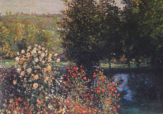 Monet Rosai Nel Giardino A Montgeron