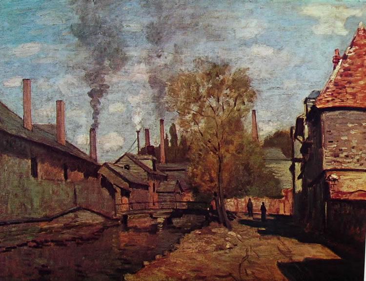 Claude Monet: Ruscello di Robec