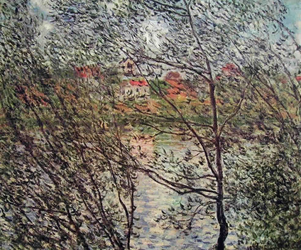 Claude Monet: Le rive della Senna attraverso i rami