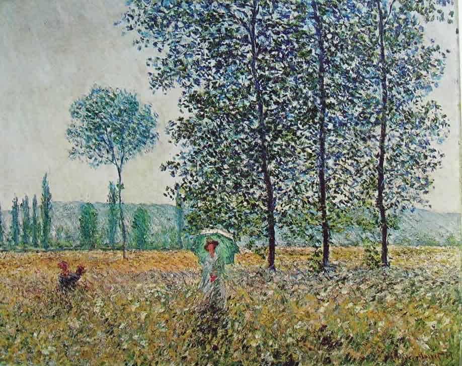 Claude Monet: Campi in primavera
