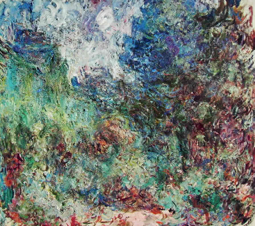 Claude Monet: La casa di Giverny fra le rose
