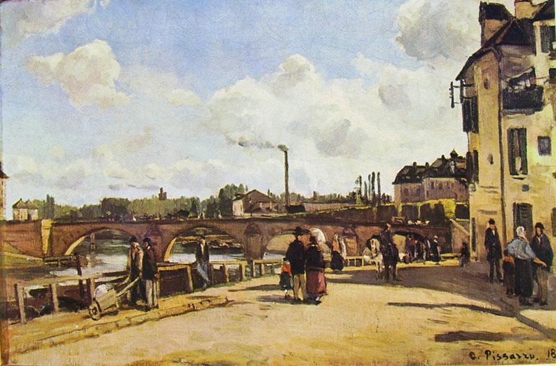 Camille Pissarro: Pontoise