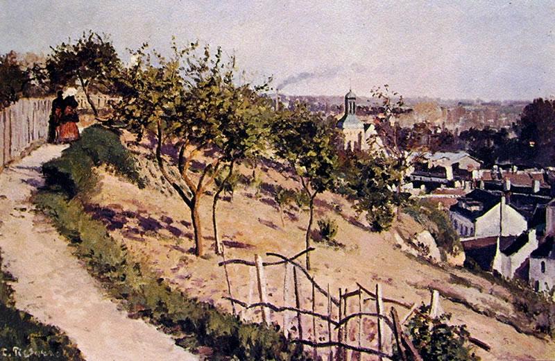 Camille Pissarro: La Sente de la Justice a Pontoise