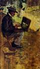 Angiolo Tommasi - Lega che dipinge